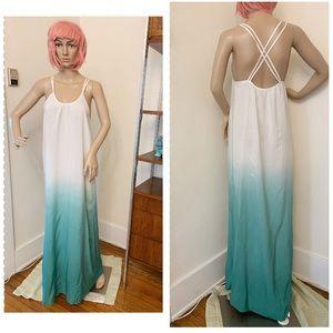 Kimko London Mint Ombré Maxi Dress XS/S